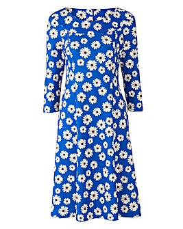 Joanna Hope Daisy Print Dress