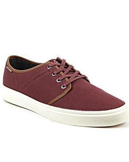 Jack Jones Canvas Lace Up Sneaker