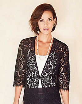 Joanna Hope Lace Soft Jacket