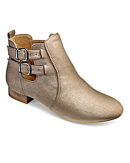 Sole Diva Buckle Ankle Boots E Fit