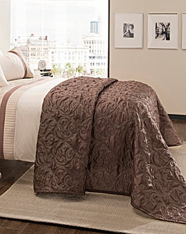 Erica Quilted Embroidered Throwover