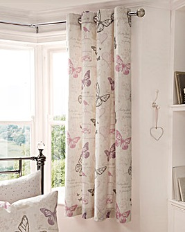 Bella Eyelet Lined Curtains