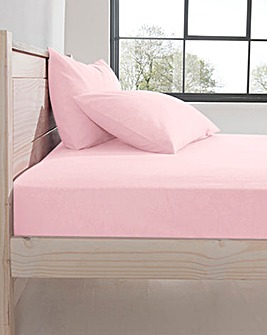 Supersoft Flannelette Fitted Sheet