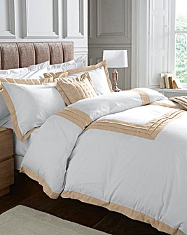 Grace Oxford Trim Duvet Cover Set