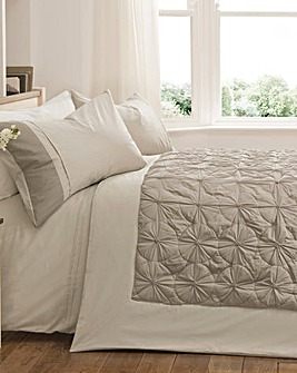 Lucy Quilted End of Bed Throwover