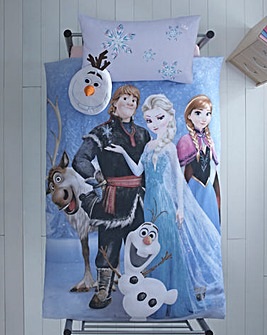 Frozen Stellar Panel Duvet Set