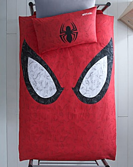 Spiderman Personalised Panel Duvet Set