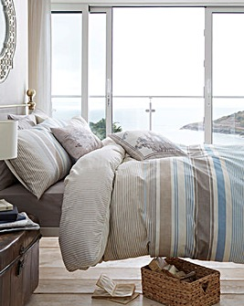 Falmouth Stripe Duvet Cover Set