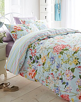 Lottie 180 Cotton Percale Duvet Set