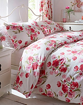 Camilla Printed Floral Duvet Cover Set