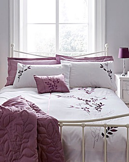 Emily Embellished Duvet Cover Set