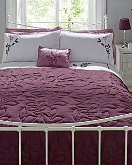 Emily Embellished Quilted Throwover