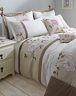 Eliza Embellished Duvet Cover Set