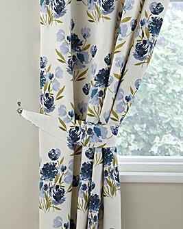 Camilla Printed Floral Curtain Tiebacks