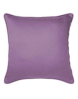 Plain-Dye Sateen Filled Cushion