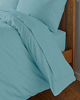 200 TC Plain Dye Percale Flat Sheet