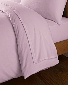 Value Plain Dyed Flannelette Flat Sheet