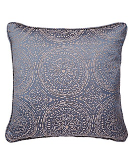 Estow Textured Jacquard Filled Cushion