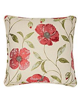 Carmen Floral Jaquard Filled Cushion
