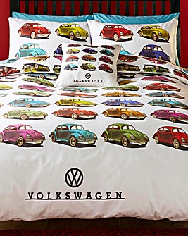 VW Beetle Duvet Cover Set