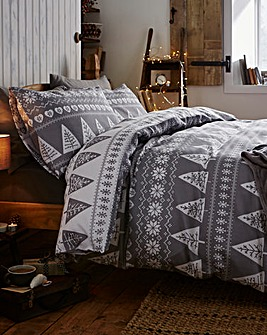Nordic Trees Duvet Cover Set