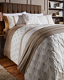 Harper Embroidered Duvet Cover Set