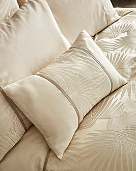 Lyra Jacquard Filled Boudoir Cushion