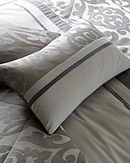 Thea Jacquard Boudoir Cushion