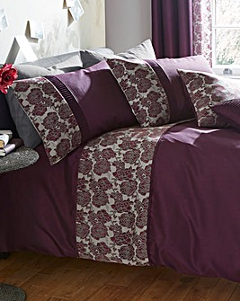 Astrid Embellished Duvet Cover Set
