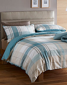 Macey Check Duvet Cover Set