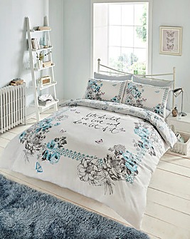 Paige Reversible Printed Duvet Cover Set