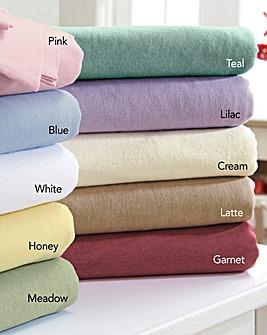 Flannelette Flat Sheet
