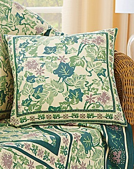 Cotton Ivy Leaf Cushion Covers 4 Pack