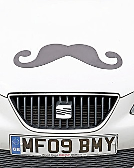 Moustache Car Magnet