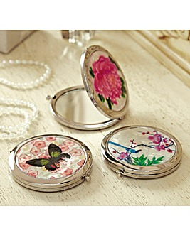 Decorative Handbag Mirrors Set of 3