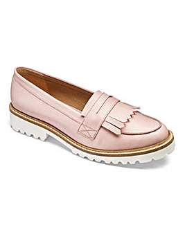 Sole Diva Suzie Chunky Loafers EEE Fit