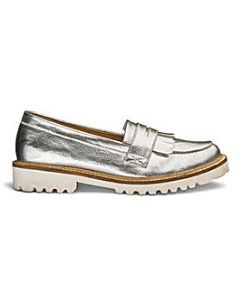 Sole Diva Suzie Chunky Loafers E Fit