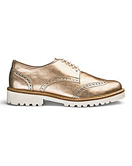 Sole Diva Chunky Brogues EEE Fit