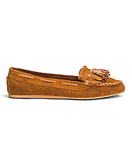 Sole Diva Leather Moccasins E Fit