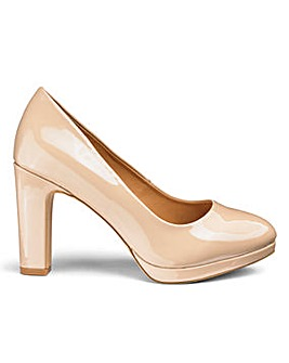 Sole Diva Abigail Court Shoes EEE Fit