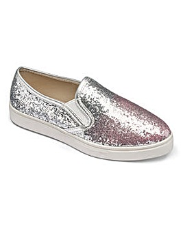 Sole Diva Alison Slip On Pumps E Fit
