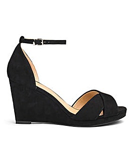 Sole Diva Jas Slim Wedge Sandal E Fit