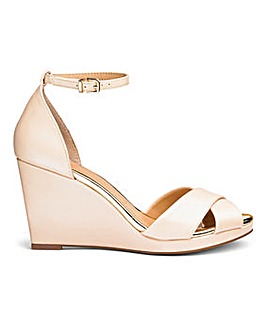 Sole Diva Jas Slim Wedge Sandal E Fit