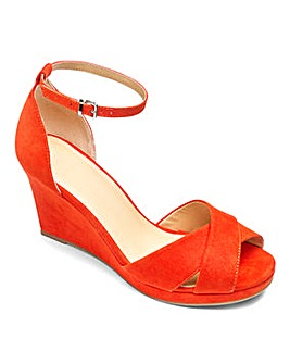 Sole Diva Jas Slim Wedge Sandal EEE Fit