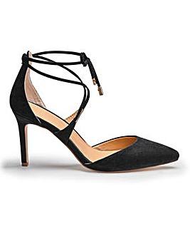 Sole Diva Ankle Tie Sandal EEE Fit