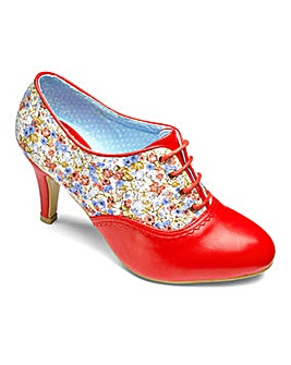 Joe Browns Floral Shoe Boots E Fit