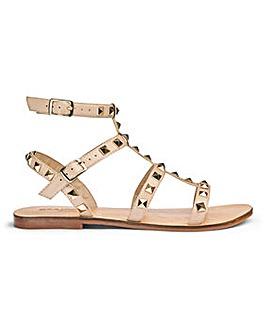 Sole Diva Gladiator Sandals EEE Fit