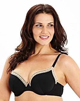 2 Pack Plunge Wired Natural/Black Bras