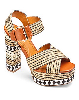 Glamorous Platform Sandal D Fit