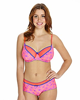 2 Pack Full Cup Wired Print/Plain Bras
